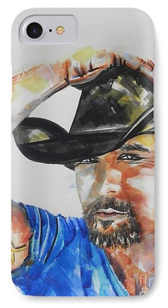 Country Singer Tim Mcgraw 02 IPhone Case