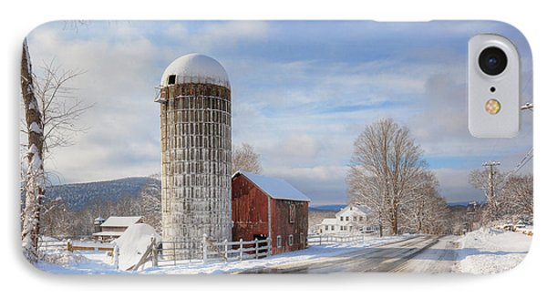 Country Snow Phone Case by Bill Wakeley