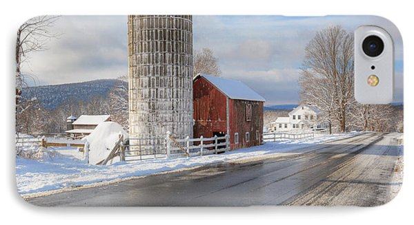 Country Snow Square IPhone Case