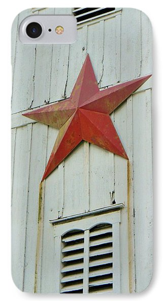 Country Star IPhone Case by Jean Goodwin Brooks