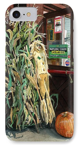 Country Store IPhone Case by Barbara Jewell