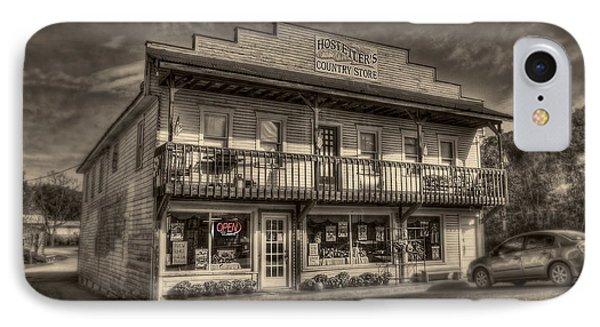 Country Store Open Phone Case by Dan Friend