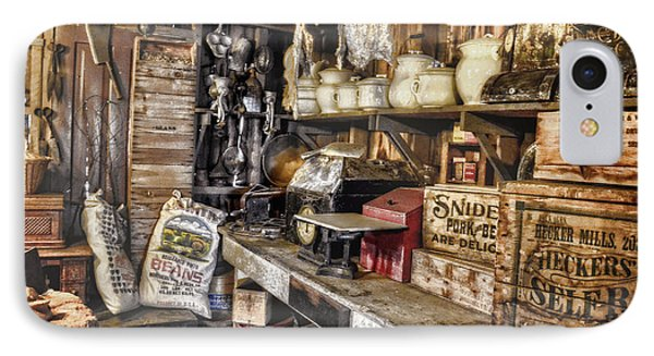 Country Store Supplies Phone Case by Ken Smith