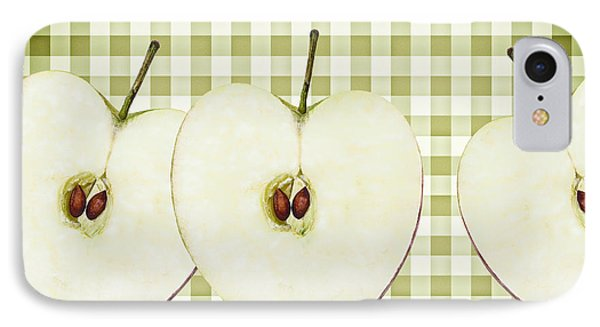 Country Style Apple Slices Phone Case by Natalie Kinnear