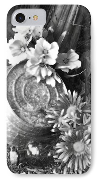 Country Summer - Bw 03 IPhone Case by Pamela Critchlow