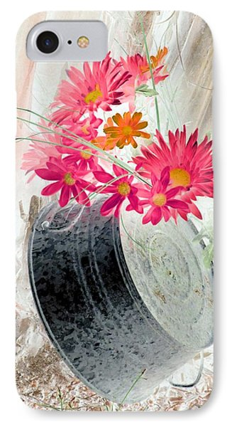 Country Summer - Photopower 1499 IPhone Case by Pamela Critchlow