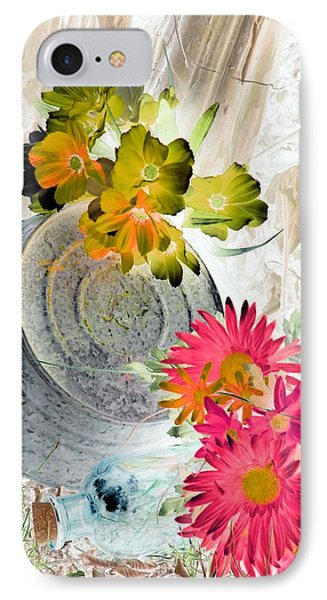 Country Summer - Photopower 1509 IPhone Case by Pamela Critchlow