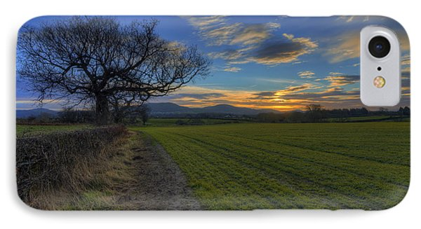 Country Sunrise Phone Case by Ian Mitchell