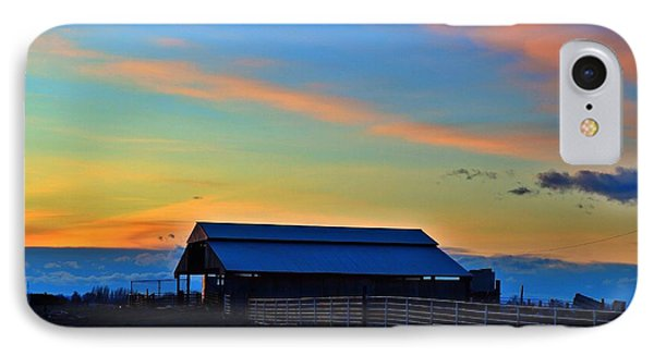 IPhone Case featuring the photograph Country Sunset by Lynn Hopwood