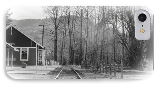 IPhone Case featuring the photograph Country Train Depot by Tikvah's Hope