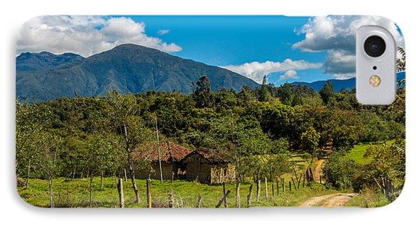 Countryside In Boyaca Colombia Phone Case by Jess Kraft