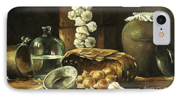 Countryside Still Life IPhone Case