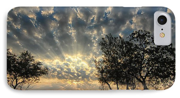 IPhone Case featuring the photograph Countryside Sunrise by Susan D Moody