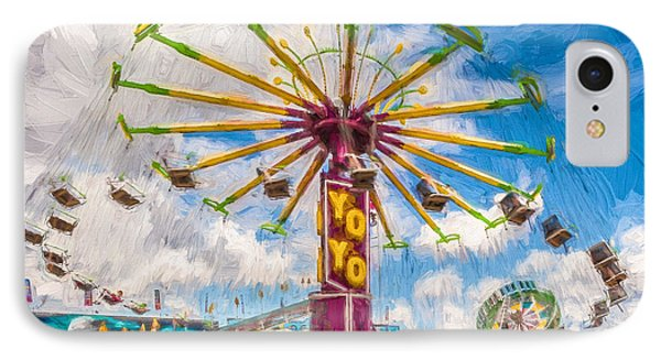 IPhone Case featuring the photograph County Fair by Beverly Parks