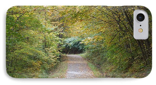 County Path IPhone Case by Catherine Gagne