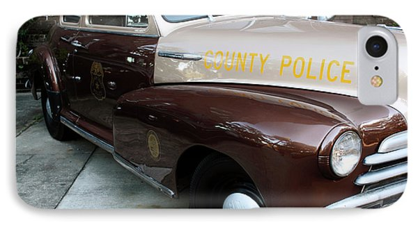 County Police Phone Case by John Rizzuto