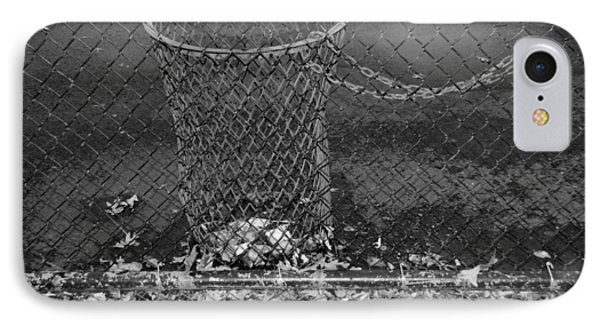 Court Trash In Black And White  Phone Case by Rob Hans