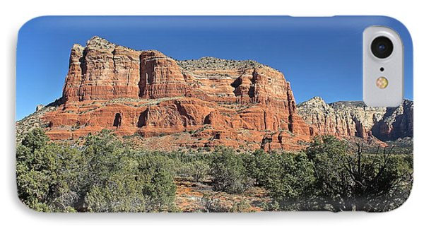 Courthouse Butte IPhone Case by Penny Meyers