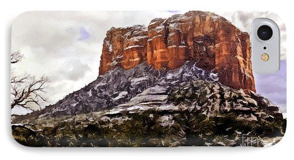 Courthouse Rock Sedona IPhone Case
