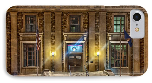 Courthouse Steps IPhone Case by Paul Freidlund