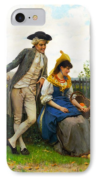 Courtship IPhone Case by Federico Andreotti