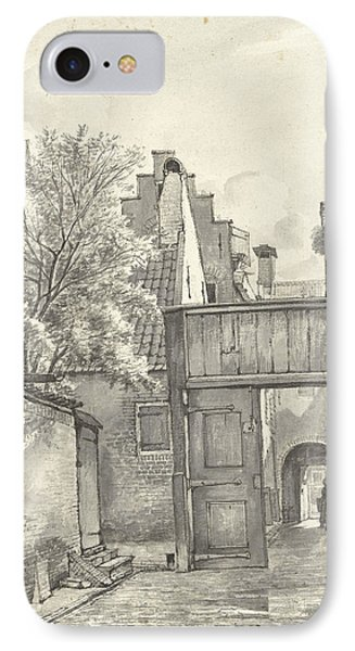 Courtyard And Alley, Gerrit Lamberts IPhone Case