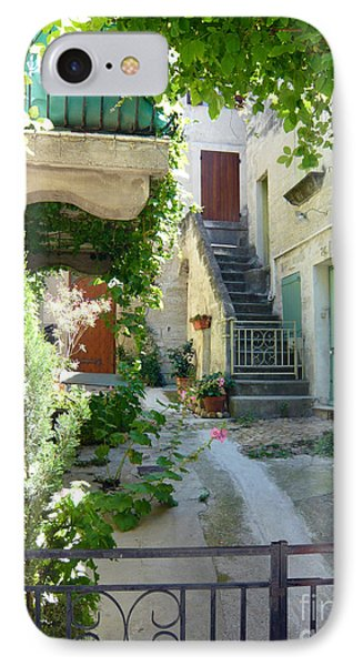 Courtyard Phone Case by Lauren Leigh Hunter Fine Art Photography