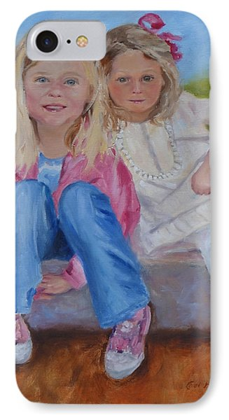 Cousins IPhone Case by Carol Berning