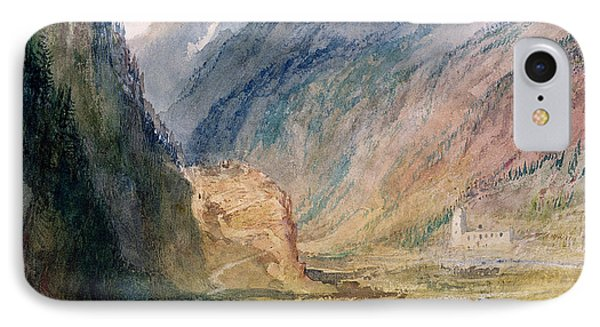 Couvent Du Bonhomme Chamonix IPhone Case by Joseph Mallord William Turner