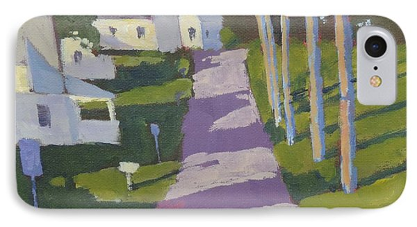 Cove Road IPhone Case by Bill Tomsa