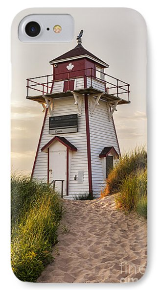 Covehead Harbour Lighthouse IPhone Case by Elena Elisseeva
