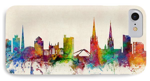 Coventry England Skyline IPhone Case