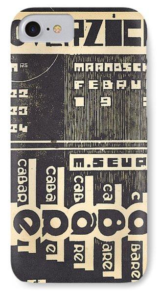 Cover For The Magazine Het Overzicht IPhone Case by Belgian School