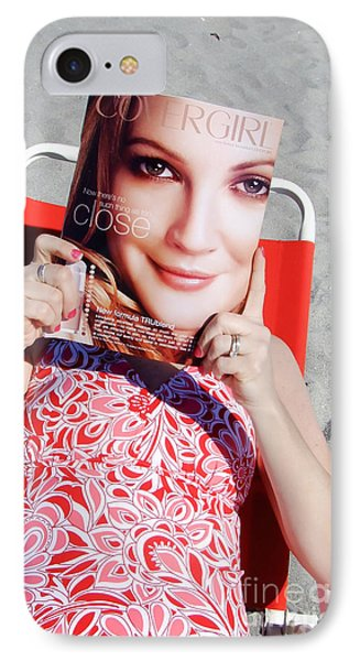 Cover Girl Phone Case by Edward Fielding