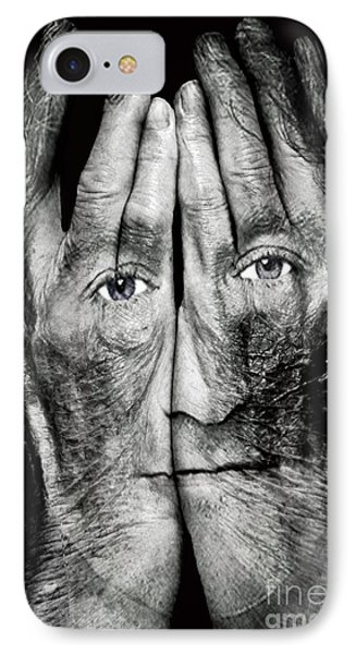 Cover Thy Faces IPhone 7 Case by Gary Keesler