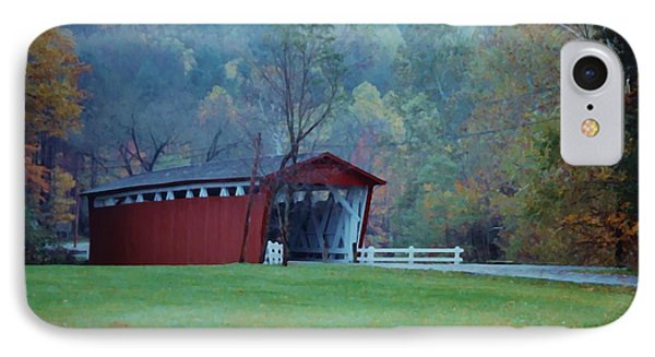 IPhone Case featuring the photograph Covered Bridge by Diane Alexander