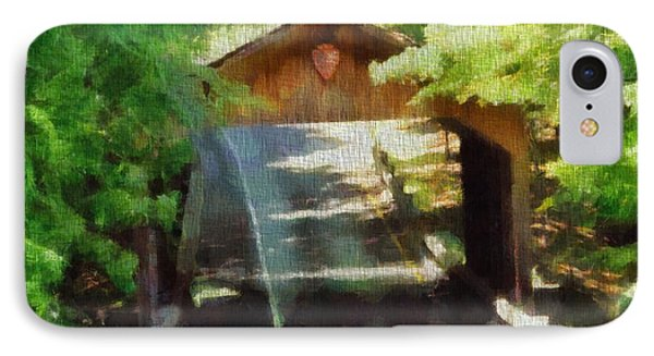 Covered Bridge In Sleeping Bear Dunes National Lakeshore IPhone Case by Dan Sproul