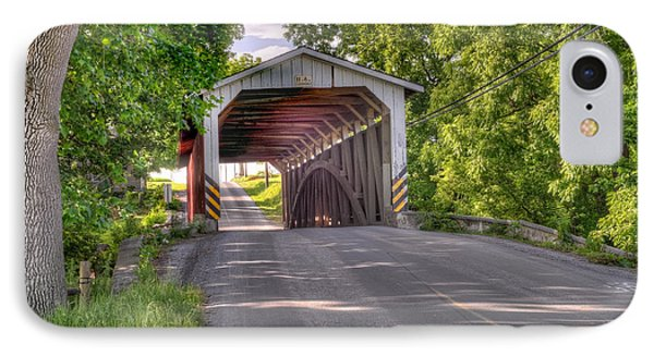 IPhone Case featuring the photograph Covered Bridge by Jim Thompson