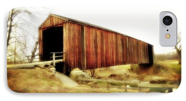 Covered Bridge Magic Phone Case by Marty Koch