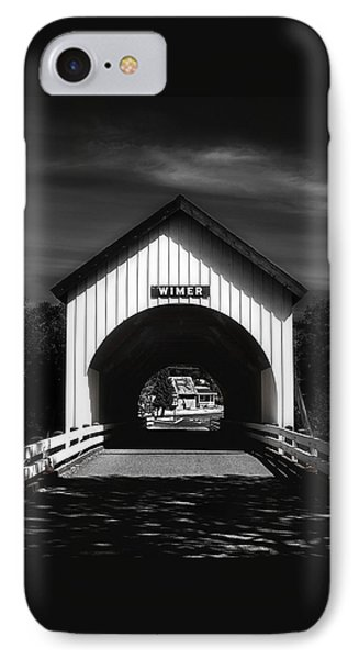 Covered Bridge IPhone Case by Melanie Lankford Photography