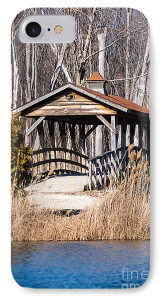 Covered Bridge IPhone Case by Patrick Shupert