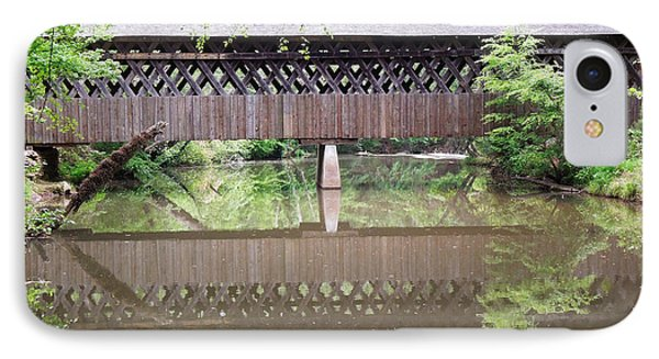 Covered Bridge IPhone Case by Pete Trenholm