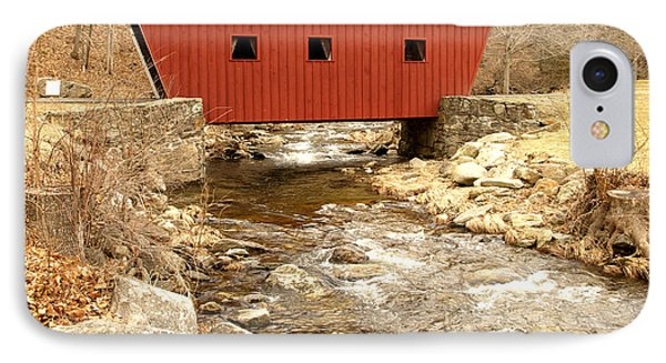 Covered Bridge IPhone Case by Raymond Earley