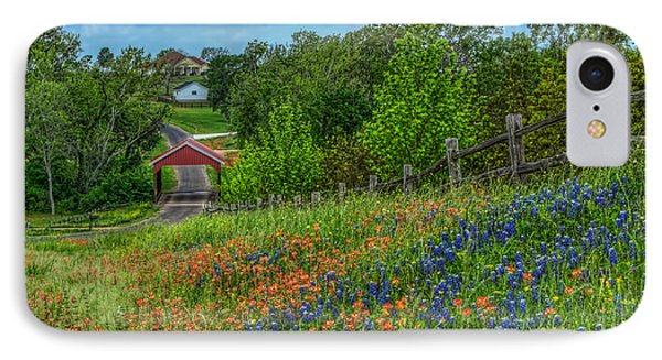 Covered Bridge IPhone Case by Tom Weisbrook