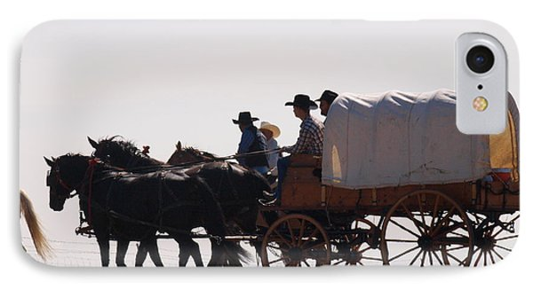 Covered Wagon IPhone Case