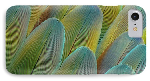 Covert Wing Feathers Of The Camelot IPhone Case by Darrell Gulin
