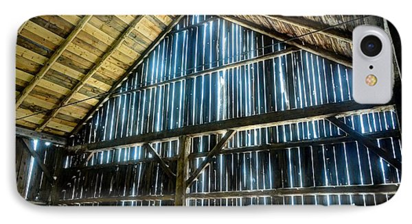 Cow Barn IPhone Case by John Nielsen