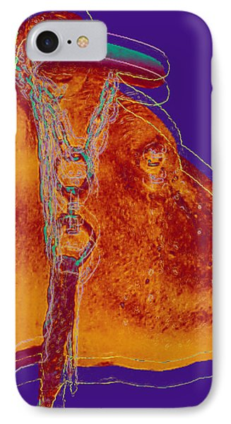 Cow Pop Art IPhone Case by Jean luc Comperat