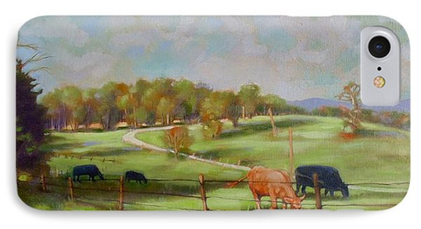 Cow Landscape IPhone Case