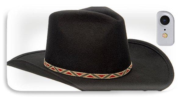 Cowboy Felt Hat Phone Case by Olivier Le Queinec